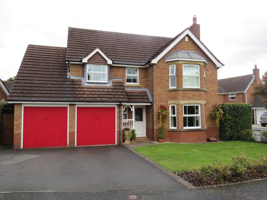 4 Bedrooms Detached House for sale in Willoughby Drive, Solihull
