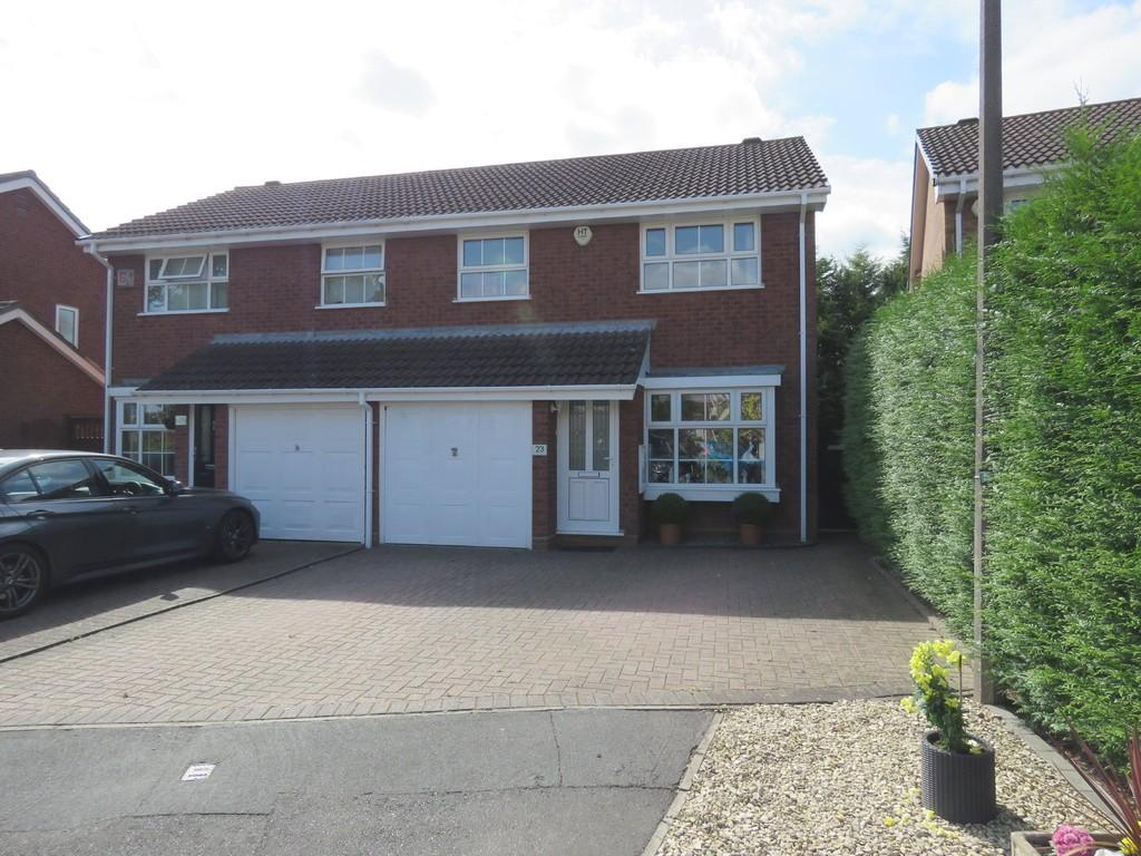 3 Bedrooms Semi Detached House for sale in Woodbury Grove, Solihull