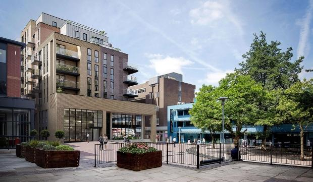 2 Bedrooms Apartment Flat for sale in Brunswick House Brunswick Square, Homefield Rise, Orpington, BR6
