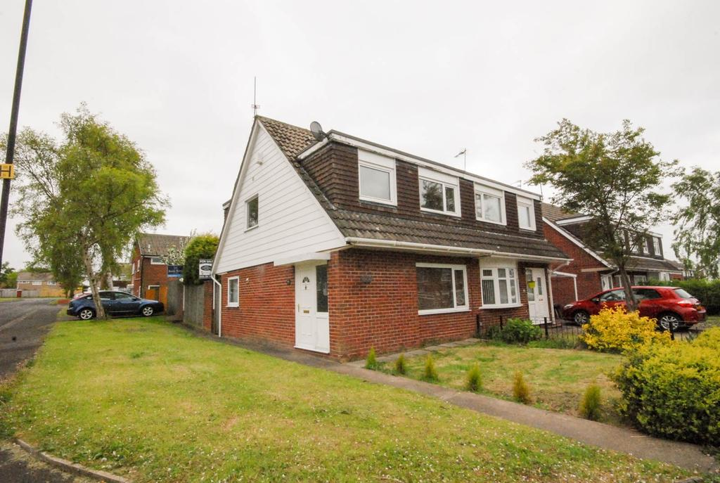 3 Bedrooms Semi Detached House for sale in Englefield Close, Kingston Park