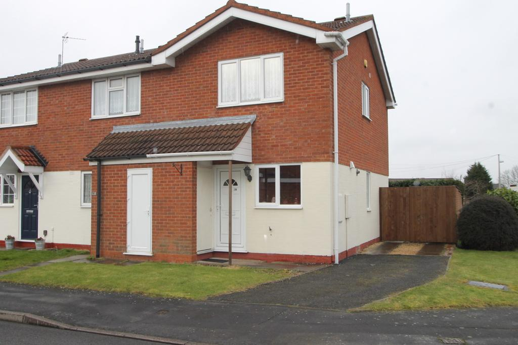 2 Bedrooms Semi Detached House for sale in Clifton Road, Halesowen, B62