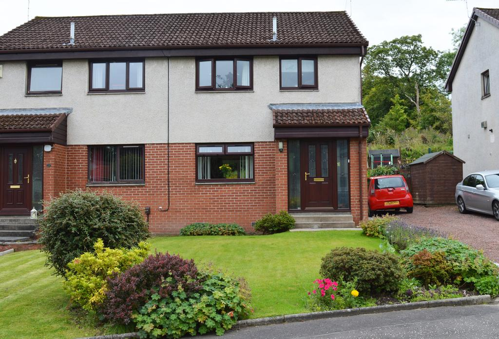 3 Bedrooms Semi Detached House for sale in 16 Braefoot Crescent, Paisley PA2