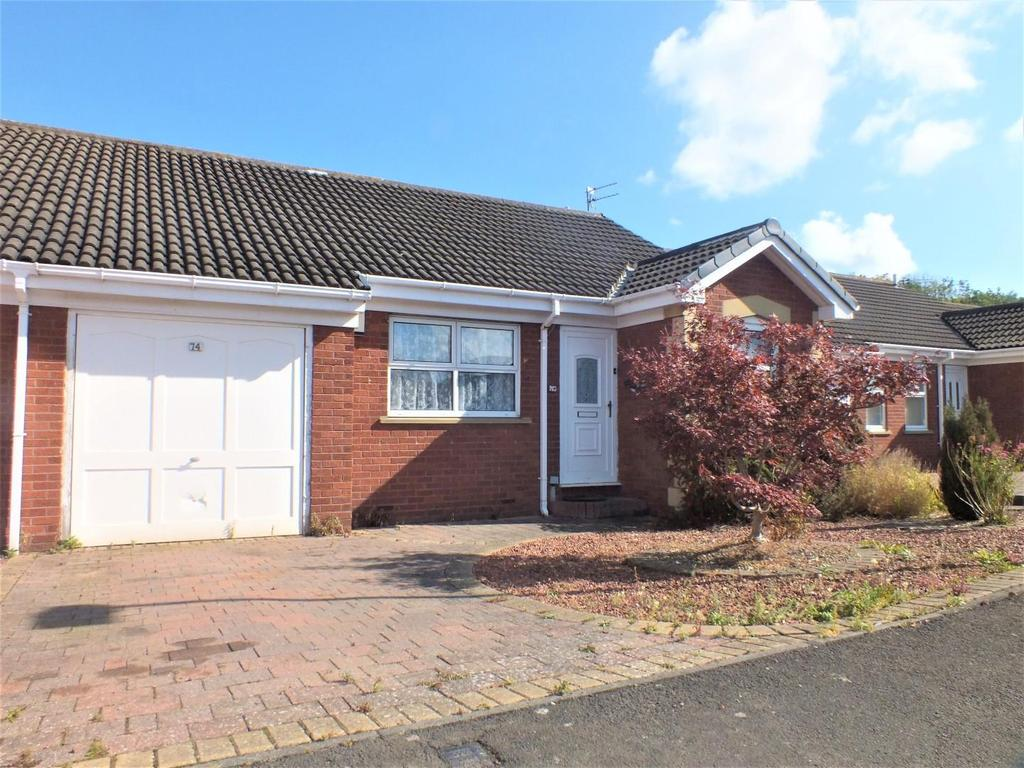 2 Bedrooms Semi Detached Bungalow for sale in Blagdon Drive, Blyth