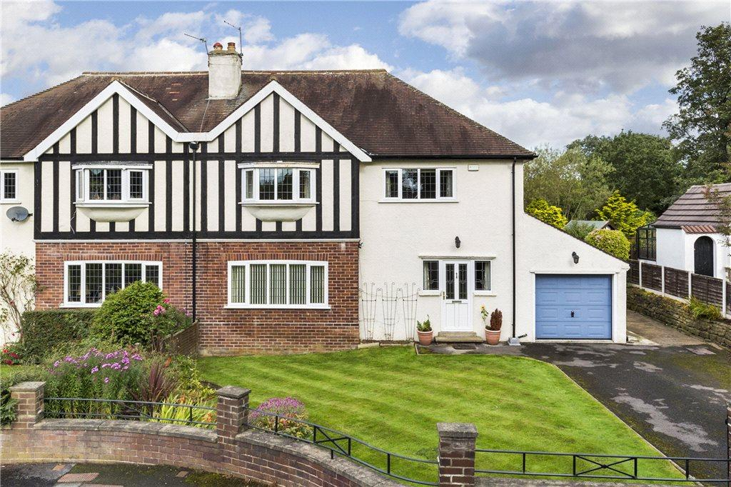 4 Bedrooms Semi Detached House for sale in The Grange Road, Leeds, West Yorkshire