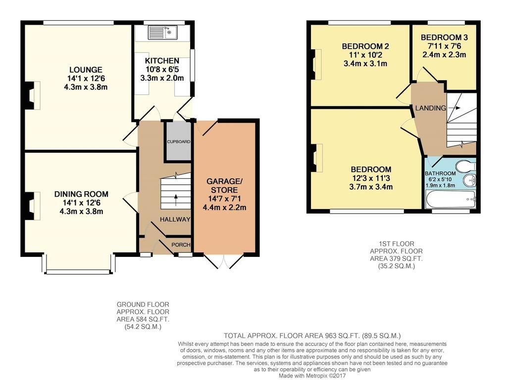 Bramble crescent tilehurst reading berkshire rg30 3 for Reading floor plans