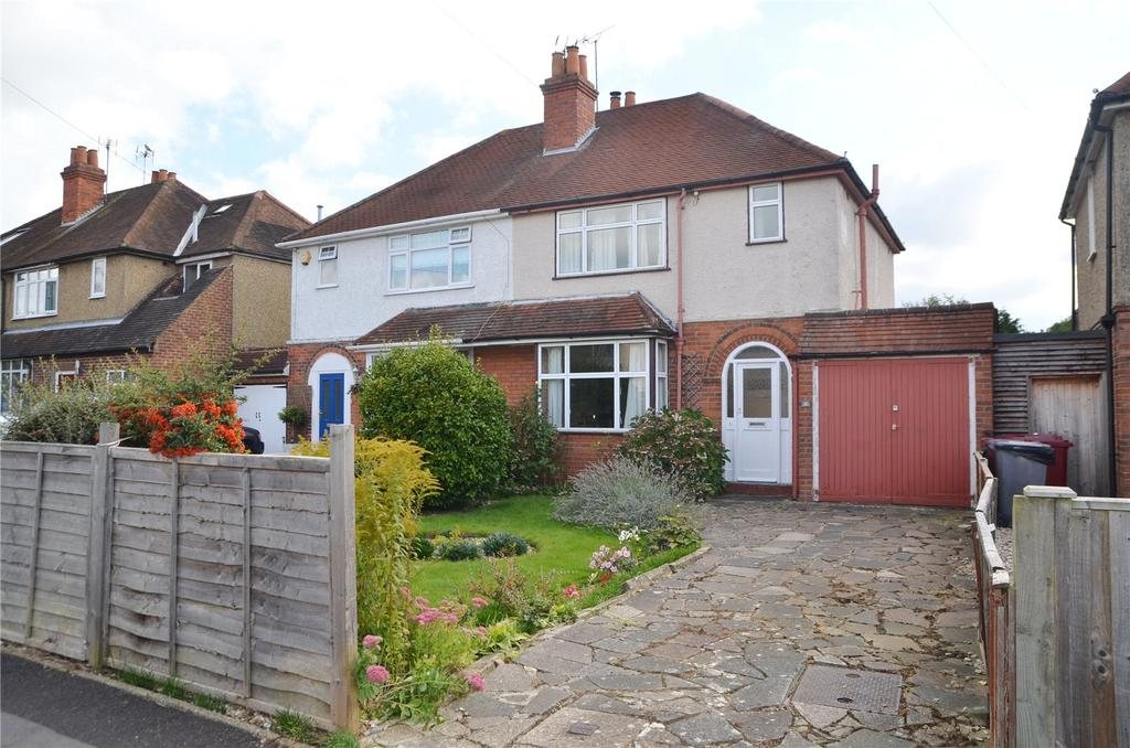 3 Bedrooms Semi Detached House for sale in Bramble Crescent, Tilehurst, Reading, Berkshire, RG30
