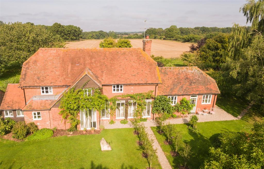 4 Bedrooms Detached House for sale in Winding Wood, Kintbury, Hungerford, RG17