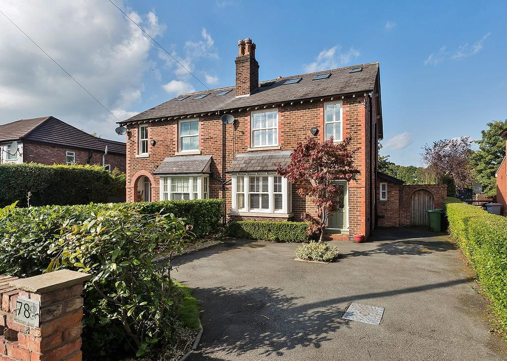 4 Bedrooms Semi Detached House for sale in Altrincham Road, Wilmslow