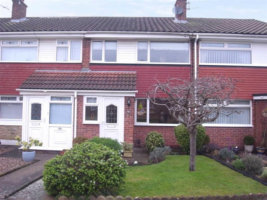 3 Bedrooms Terraced House for sale in Kingsway, Darlington