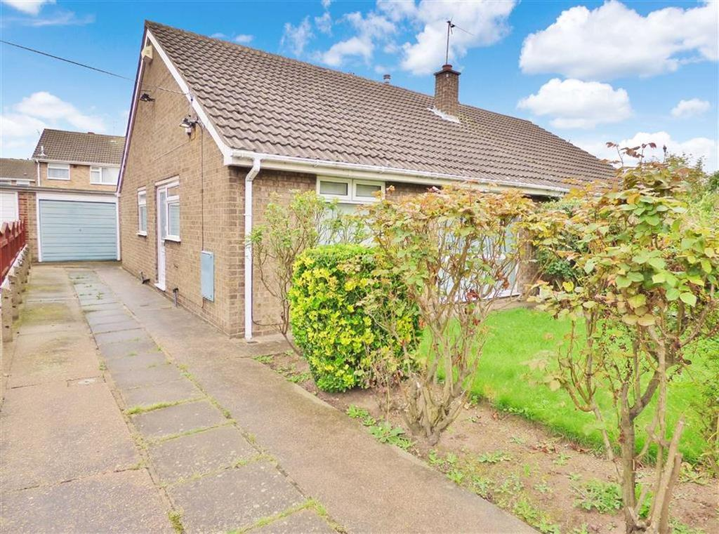 2 Bedrooms Semi Detached Bungalow for sale in Ark Royal, Bilton