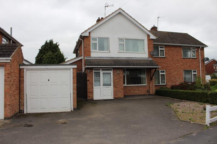 3 Bedrooms Semi Detached House for sale in Denman Lane, Huncote, Leicester