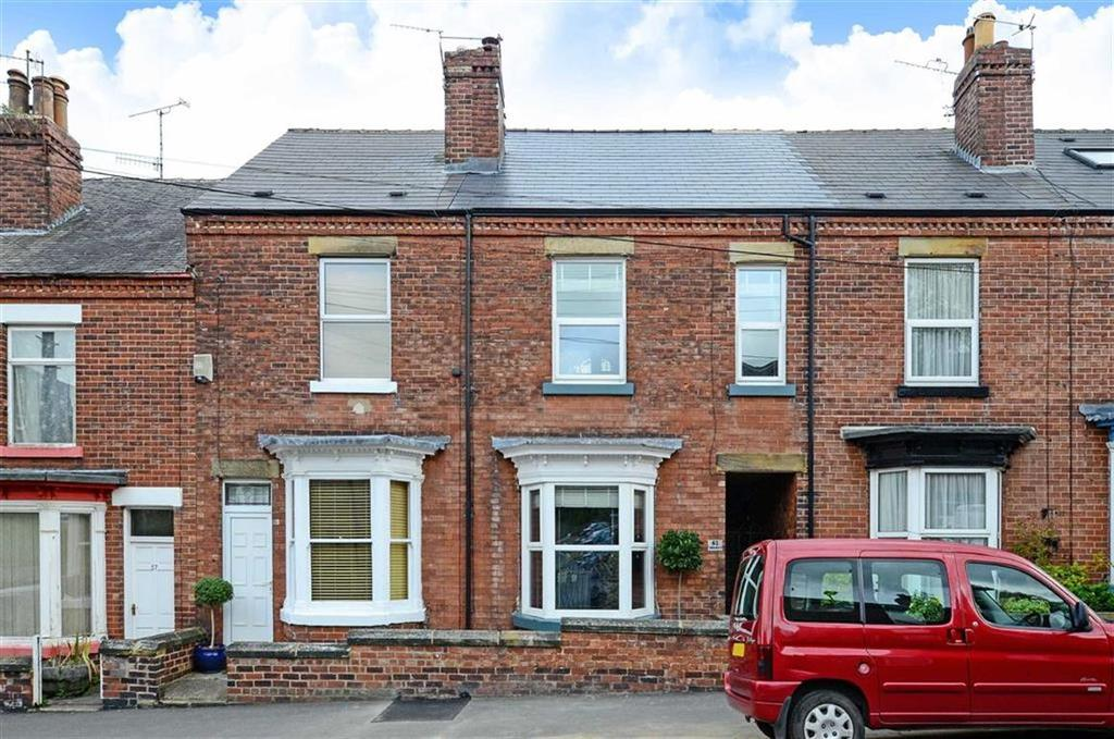 3 Bedrooms Terraced House for sale in 61, Tullibardine Road, Greystones, Sheffield, S11