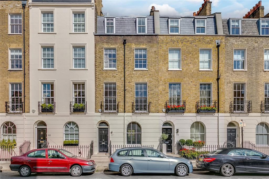 4 Bedrooms House for sale in Eaton Terrace, Belgravia, London