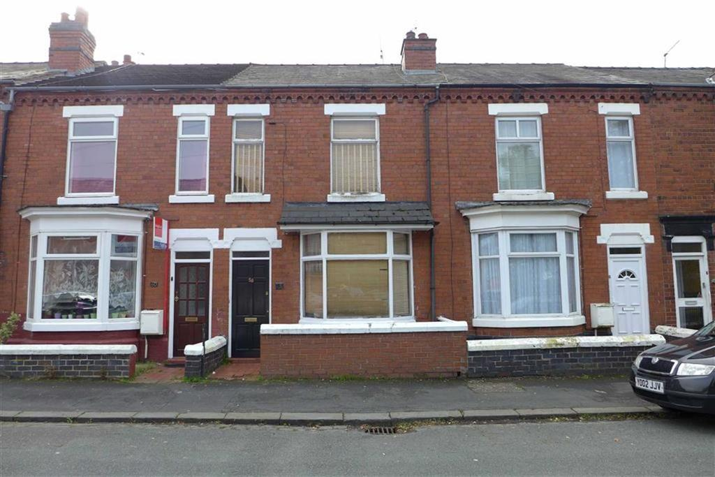 3 Bedrooms Terraced House for sale in Furnival Street, CREWE, Crewe