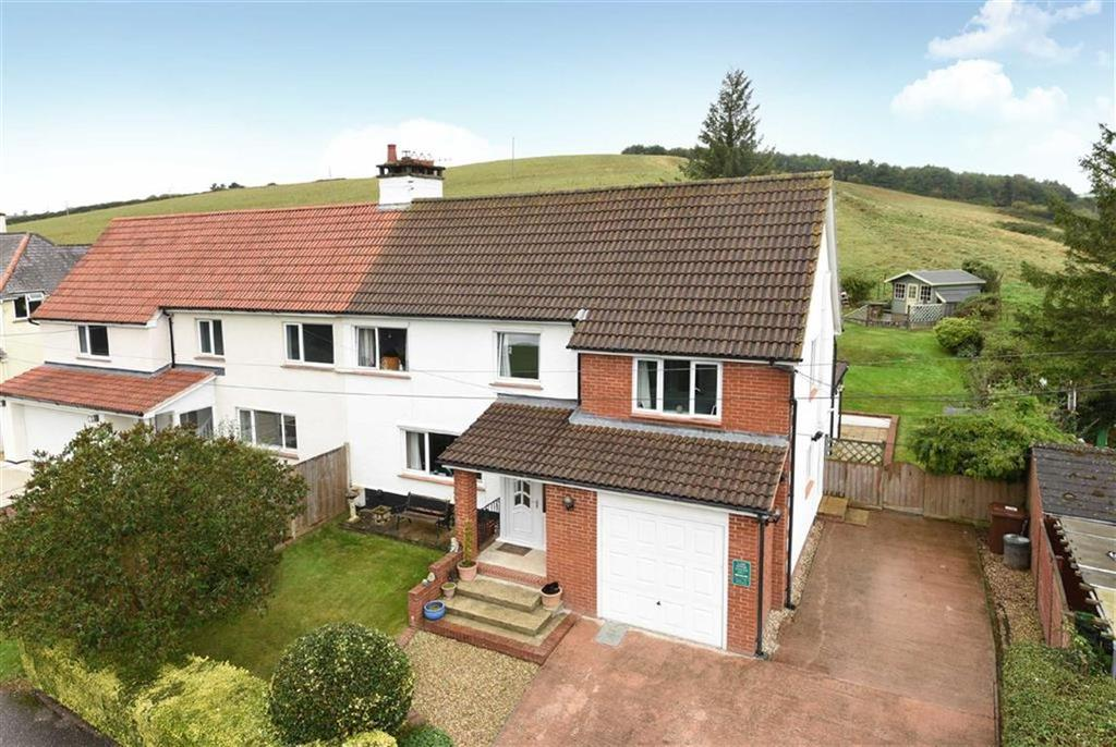 4 Bedrooms Semi Detached House for sale in Silver Street, Thorverton, Exeter, Devon, EX5
