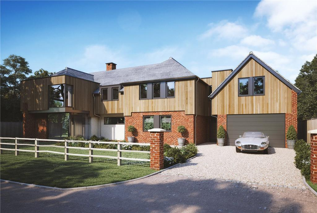 6 Bedrooms Detached House for sale in Shepherds Lane, Compton, Winchester, SO21