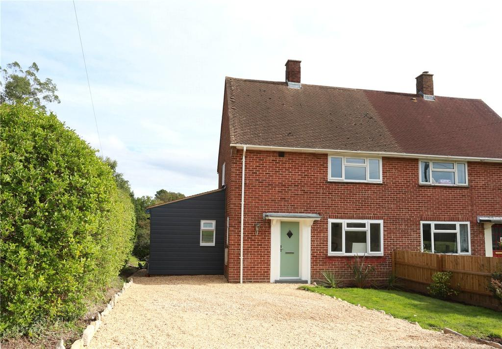 2 Bedrooms Semi Detached House for sale in Setthorns Road, Sway, Lymington, Hampshire, SO41