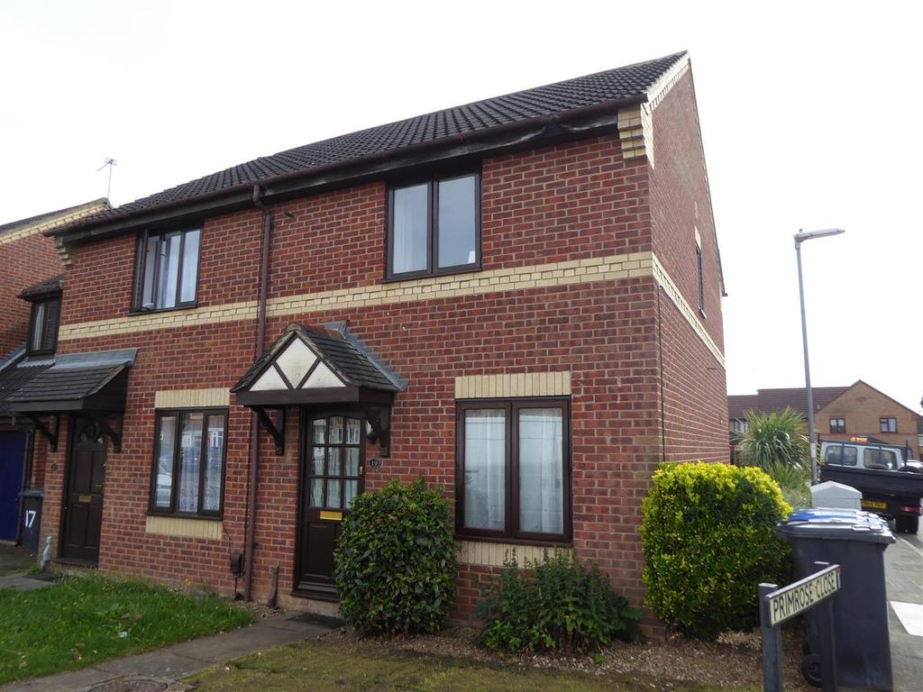 2 Bedrooms Semi Detached House for sale in Aster Road, Kettering