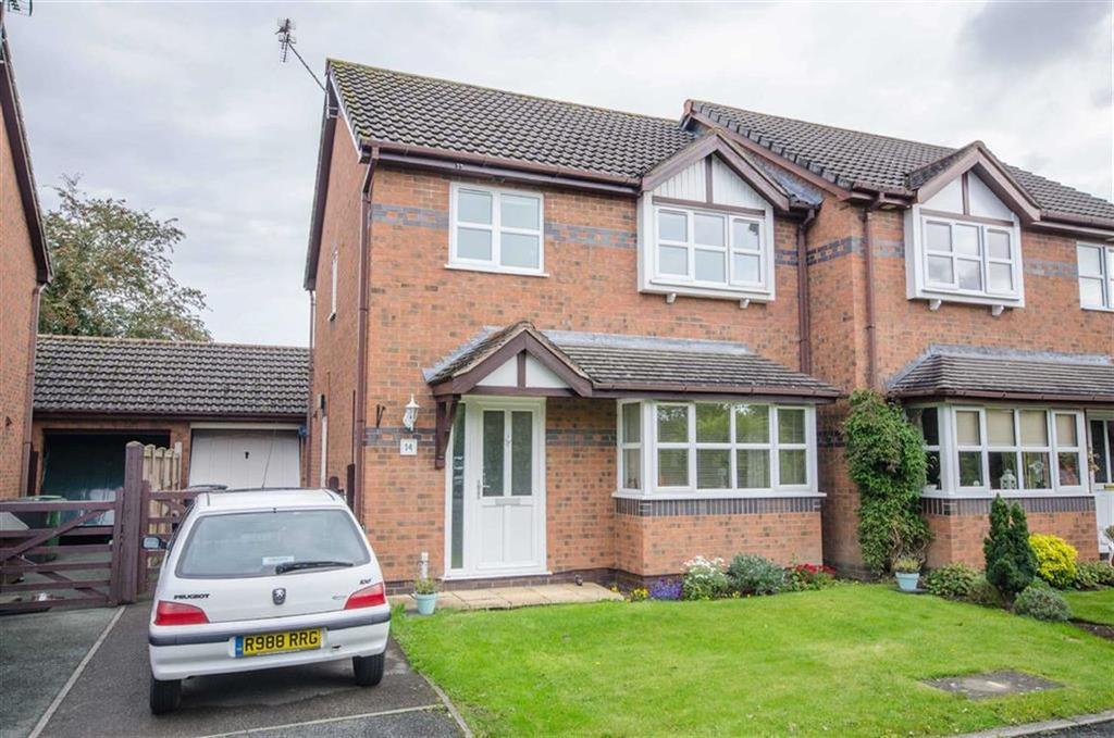 3 Bedrooms Semi Detached House for sale in Lavister Walks, Rossett, Chester, Rossett