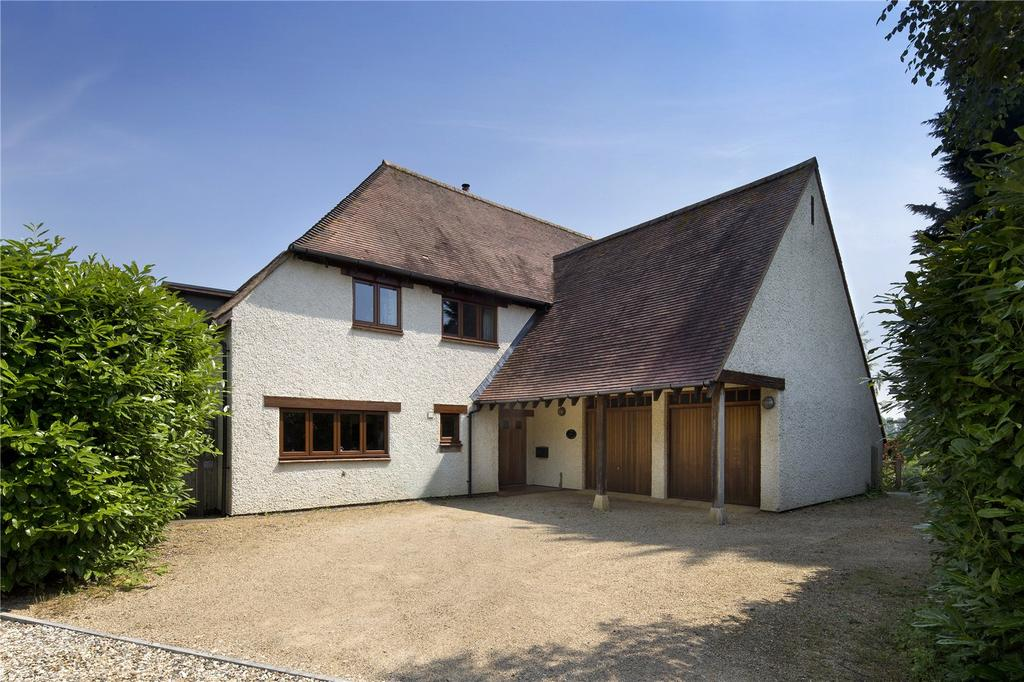 5 Bedrooms Detached House for sale in Hollyhocks, Rowstock, Didcot, Oxfordshire, OX11