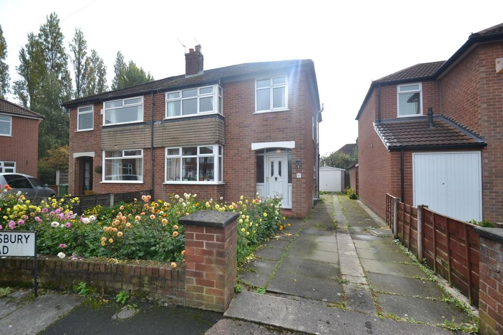 3 Bedrooms Semi Detached House for sale in Shrewsbury Road, Sale