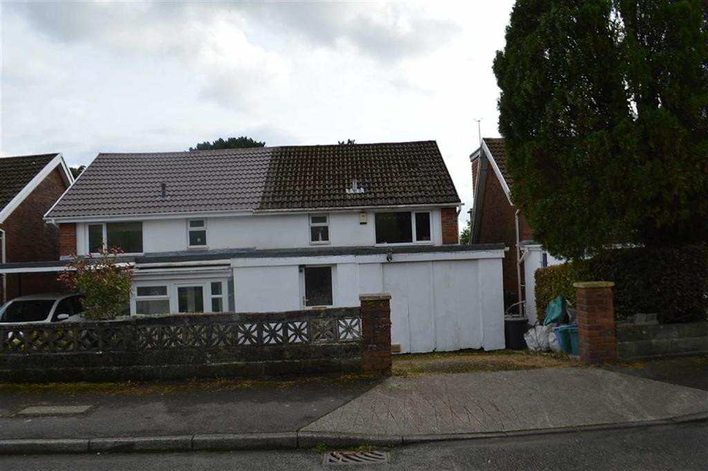 3 Bedrooms Semi Detached House for sale in Lon Masarn, Swansea, SA2