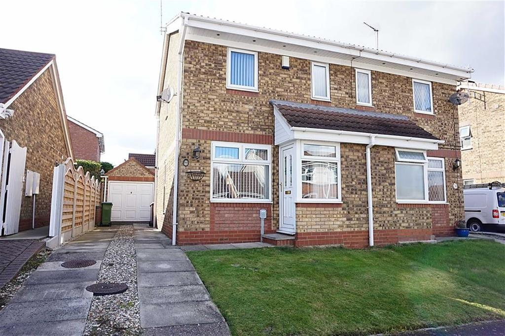2 Bedrooms Semi Detached House for sale in Elsham Rise, Hessle, Hessle, HU13