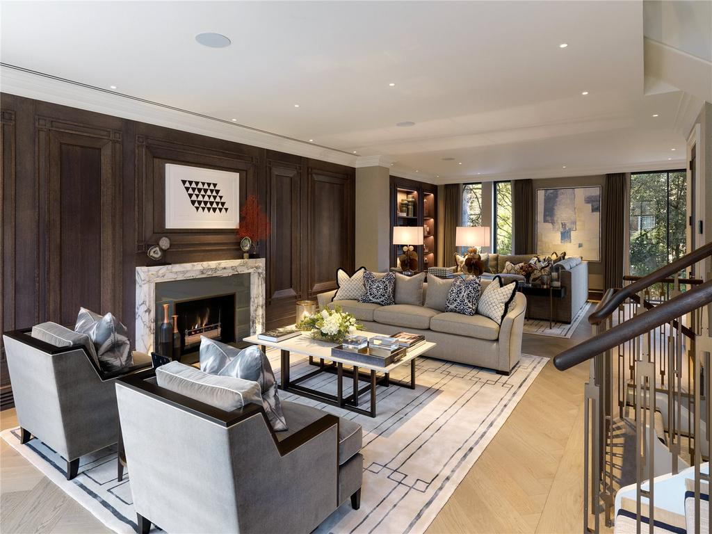 4 Bedrooms Terraced House for sale in Knighton Place, Knightsbridge, London, SW3