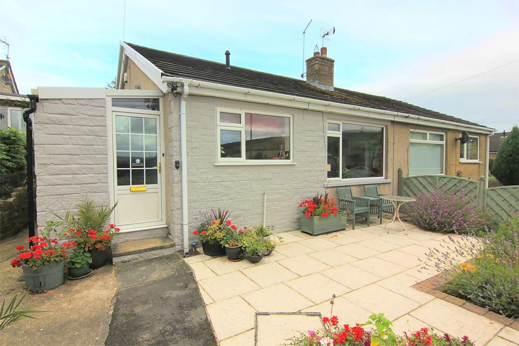 2 Bedrooms Semi Detached Bungalow for sale in 9 Green Close, Bradley, Near Skipton