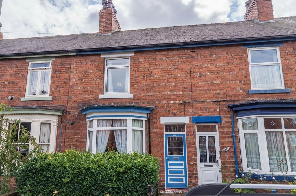 2 Bedrooms Terraced House for sale in 78 Denison Road, SELBY, North Yorkshire