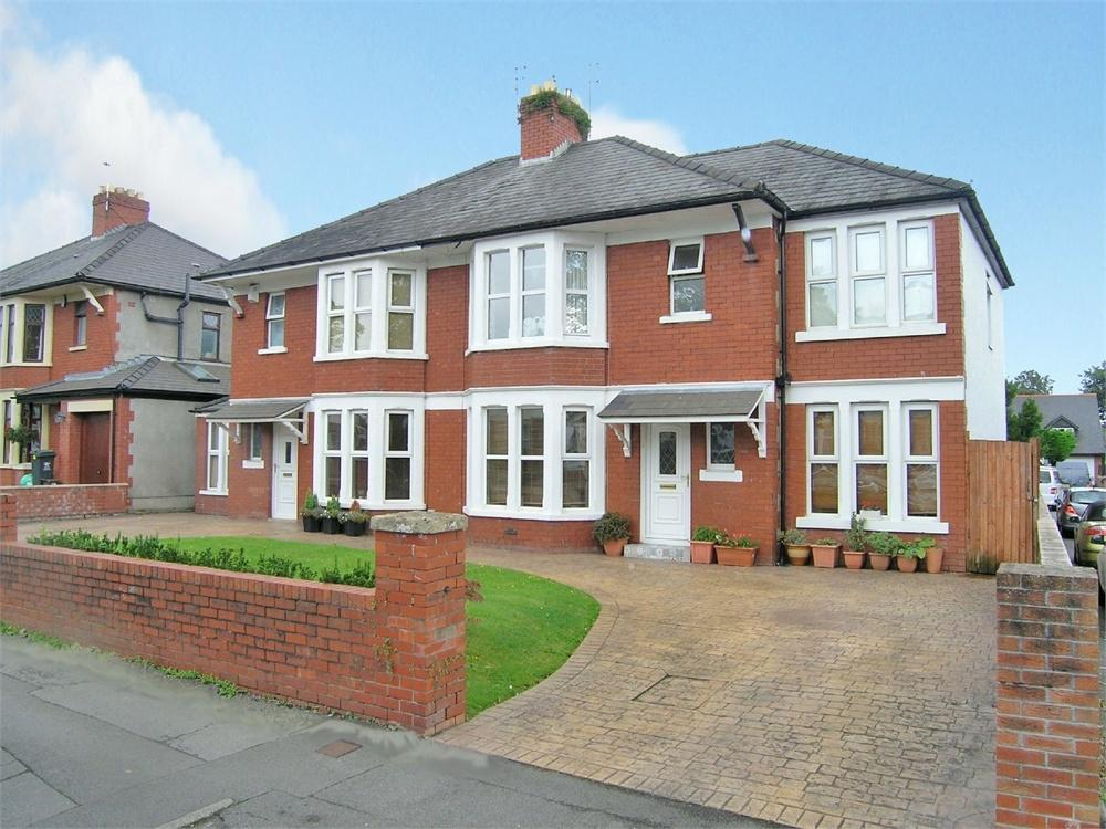 4 Bedrooms Semi Detached House for sale in Pantbach Road, Rhiwbina, Cardiff