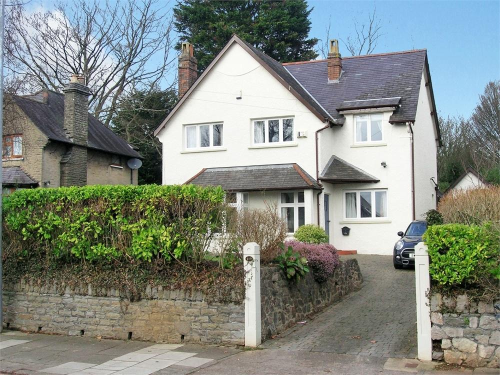 4 Bedrooms Detached House for sale in Ty Glas Road, Llanishen, Cardiff