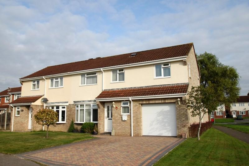 4 Bedrooms Semi Detached House for sale in Owls Road, Verwood