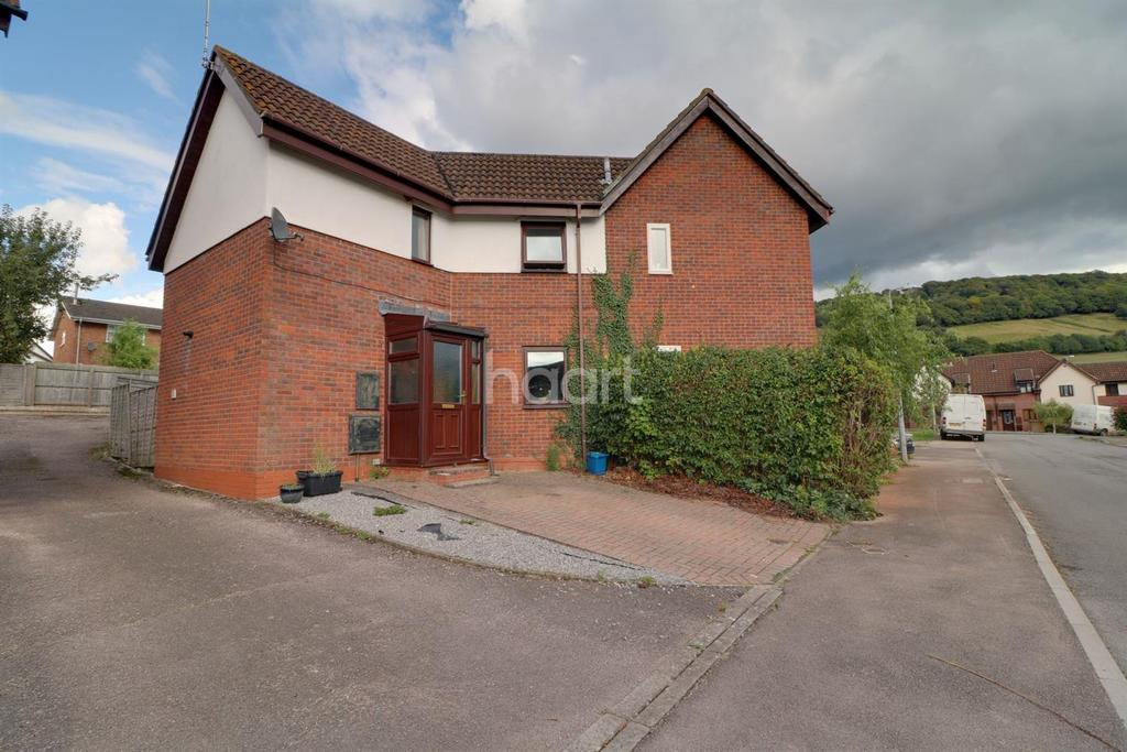2 Bedrooms Semi Detached House for sale in Kymin Lea, Wyesham, Monmouth