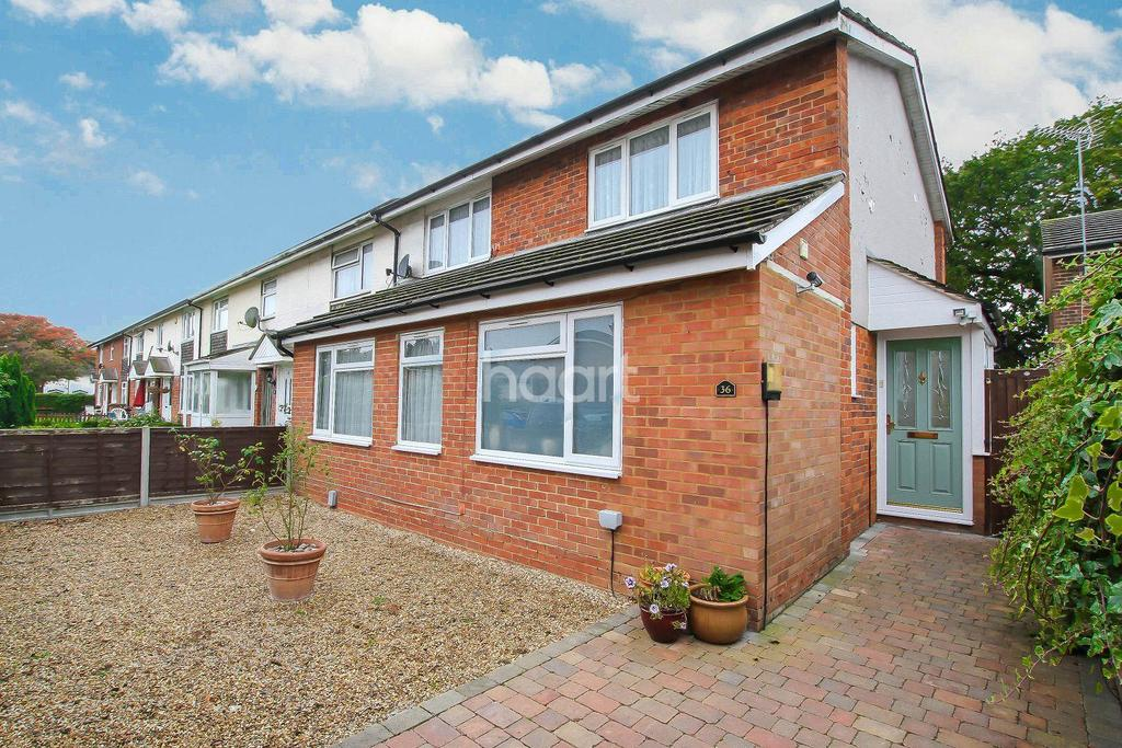 3 Bedrooms End Of Terrace House for sale in Nash Close, Chells, Stevenage