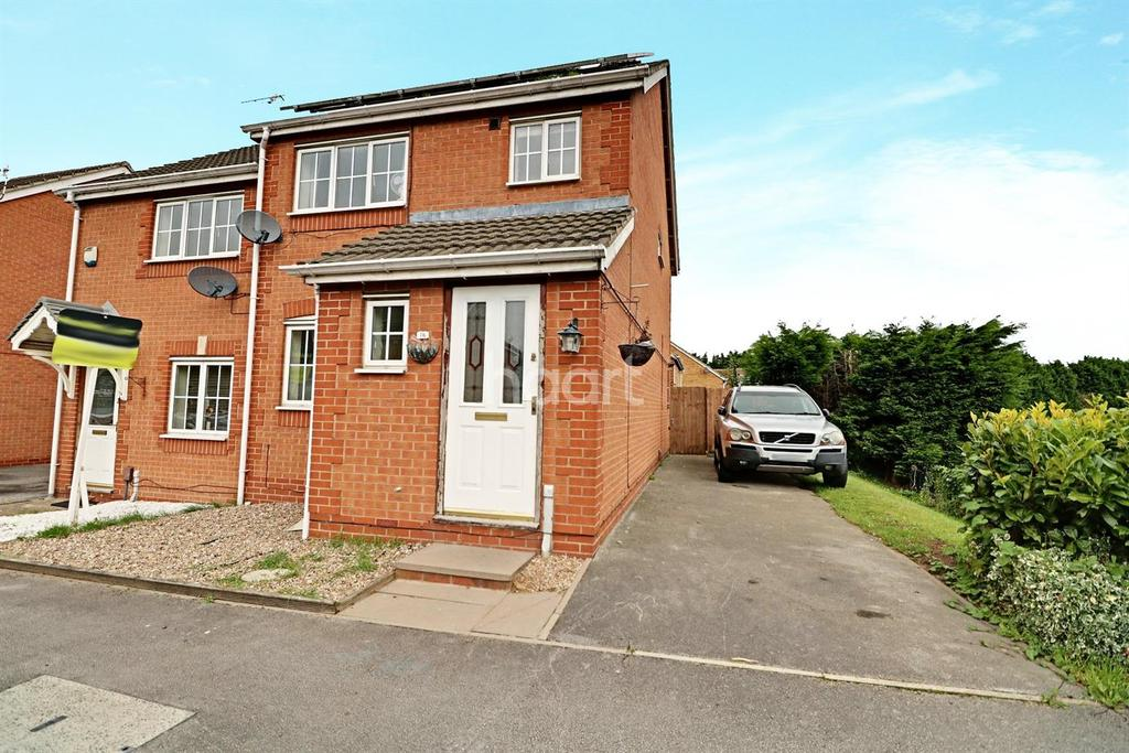 3 Bedrooms Semi Detached House for sale in Meadow Brown Road, Bobbersmill
