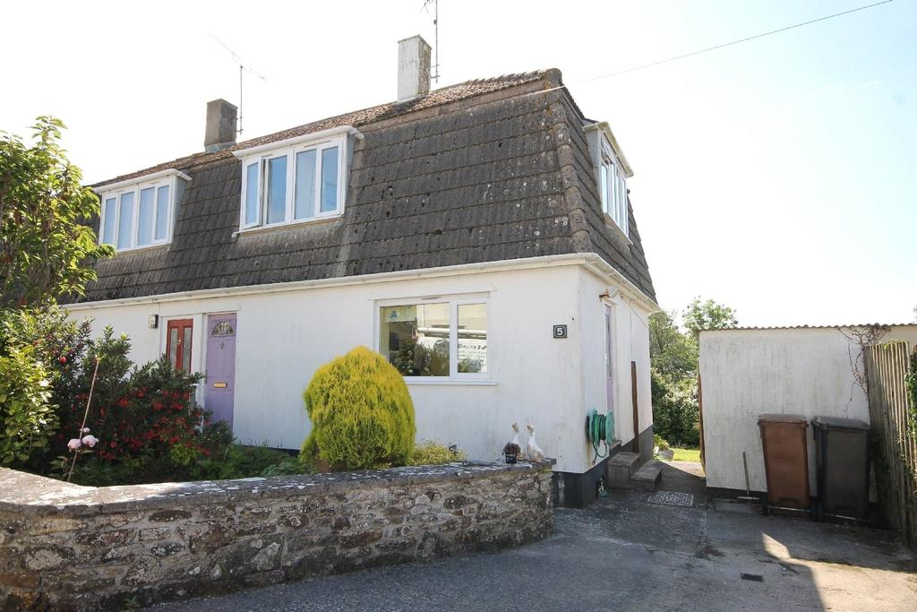2 Bedrooms Semi Detached House for sale in Yellands Park, Kingston, Kingsbridge, Devon, TQ7