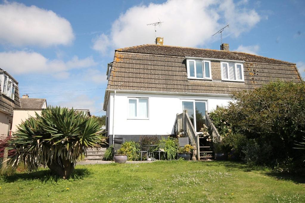 2 Bedrooms Semi Detached House for sale in Yellands Park, Kingston, Kingsbridge, Devon, TQ7