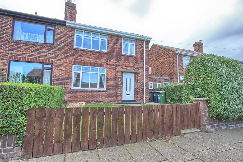3 Bedrooms Semi Detached House for sale in Meadow Road, Marske-by-the-Sea