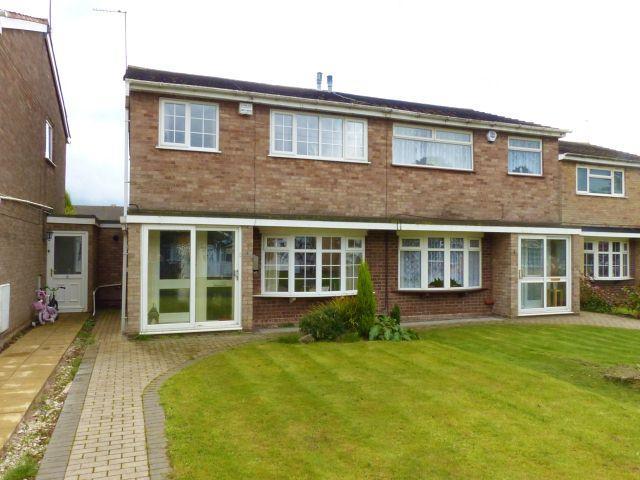 3 Bedrooms Semi Detached House for sale in Hill Top Walk,Aldridge,Walsall