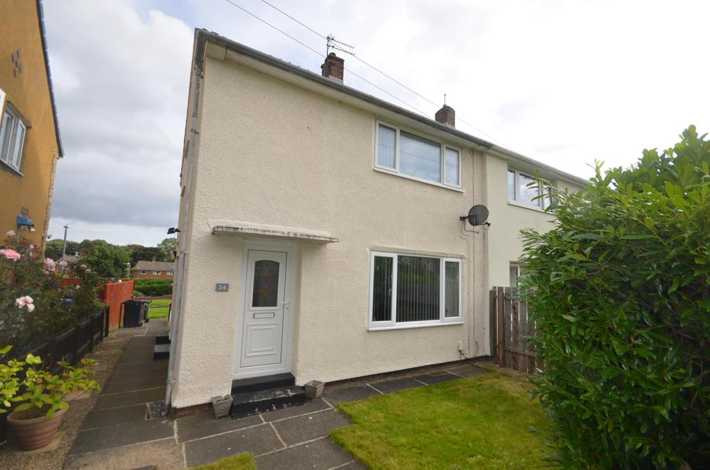 2 Bedrooms Semi Detached House for sale in Leam Lane