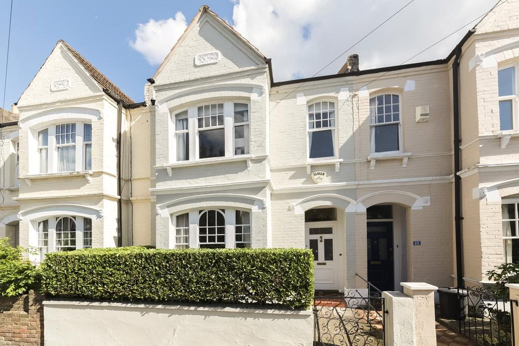 4 Bedrooms Terraced House for sale in Erpingham Road, West Putney, London