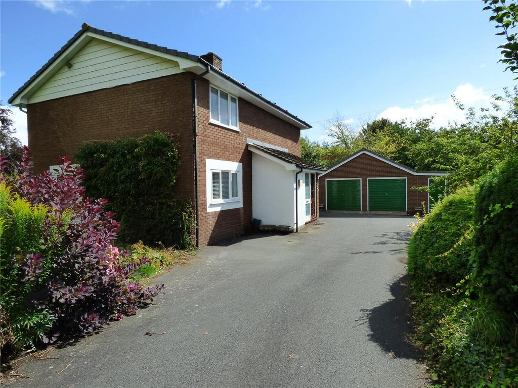4 Bedrooms Detached House for sale in Hereford Street, Presteigne, Powys
