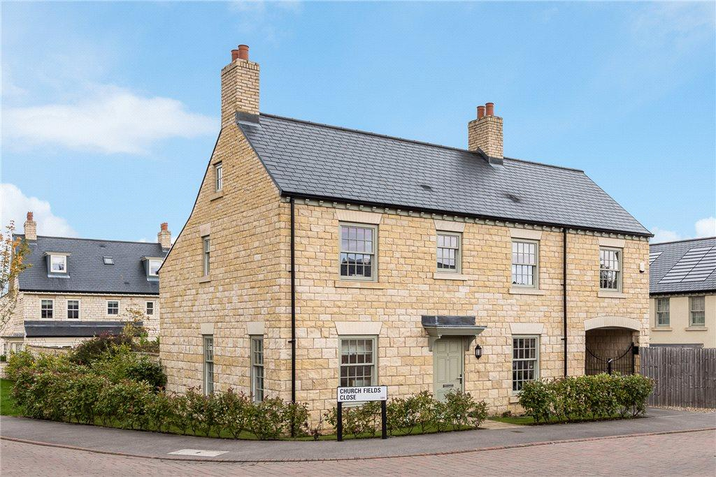 4 Bedrooms Detached House for sale in Church Fields Close, Boston Spa, Wetherby, West Yorkshire