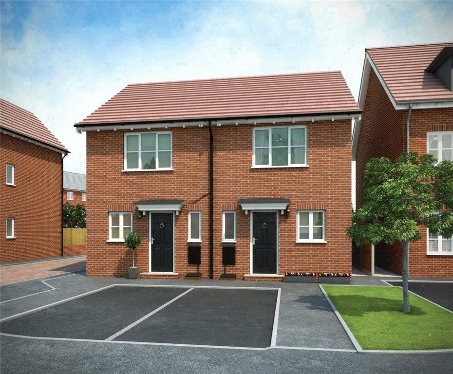 2 Bedrooms Semi Detached House for sale in WEAVER PLOT 101 PHASE 3, Navigation Point, Cinder Lane, Castleford