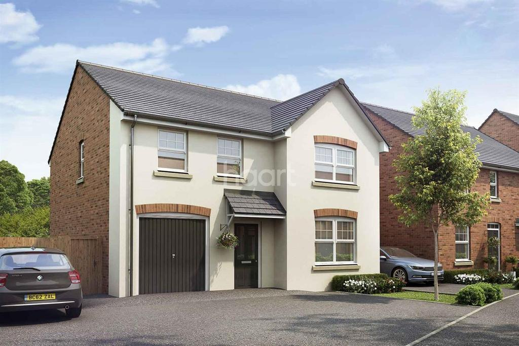 4 Bedrooms Detached House for sale in King's Wood Gate, Monmouth