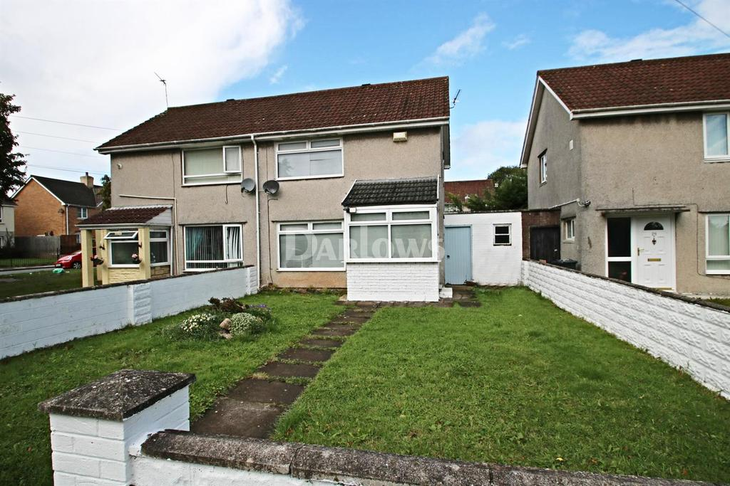 3 Bedrooms Semi Detached House for sale in Trebanog Crescent, Rumney, Cardiff