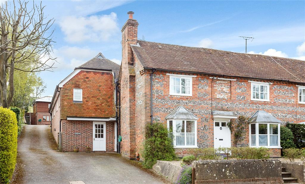 5 Bedrooms Semi Detached House for sale in The Dene, Hurstbourne Tarrant, Andover, Hampshire