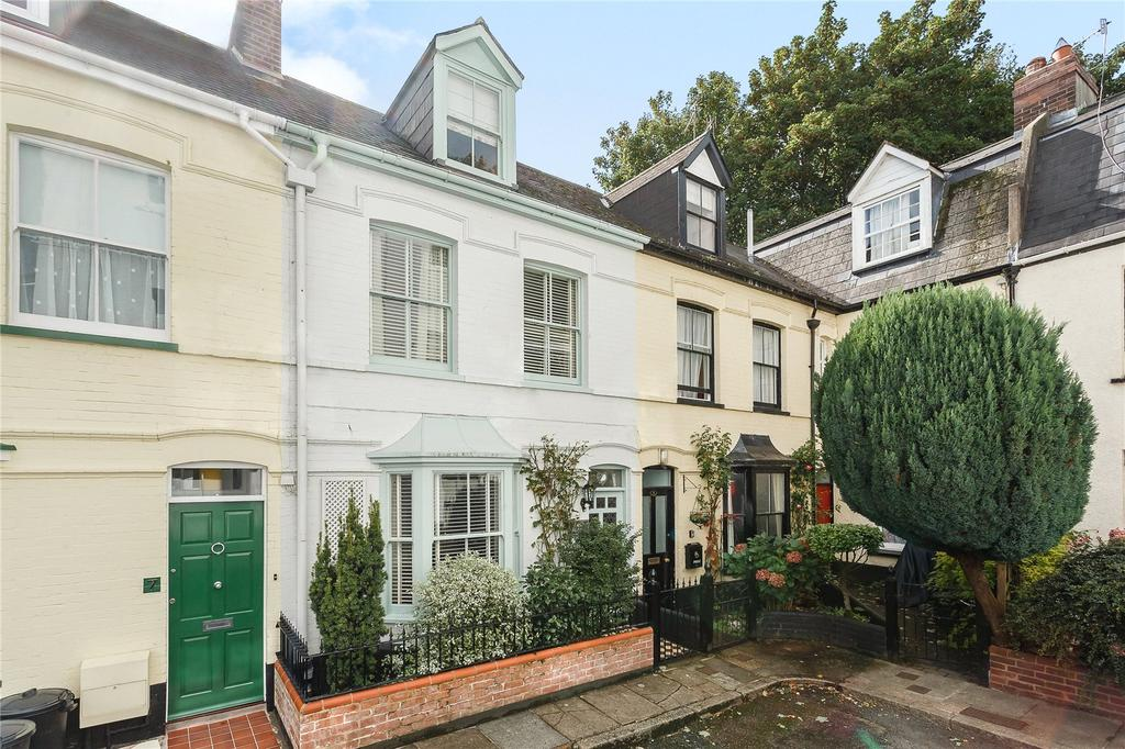 3 Bedrooms Terraced House for sale in Northernhay Square, Exeter, Devon