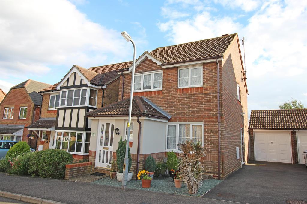 3 Bedrooms Detached House for sale in Jupiter Gate, Stevenage, Hertfordshire, SG2 7ST